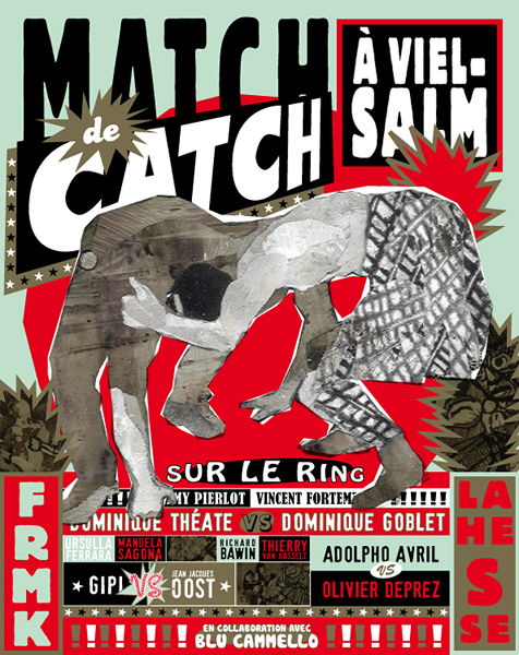 Match de catch à Vielsam - Editions FREMOK